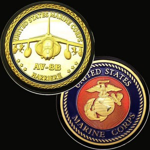 USMC Challenge Coins